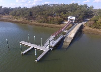 Boatramp from drone
